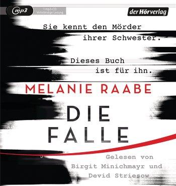 (Rezension) Die Falle von Melanie Raabe gelesen von Birgit Minichmayr und Devid Striesow