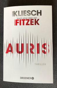 Buch Auris von Vincent Kliesch nach einer Idee von Sebastian Fitzek