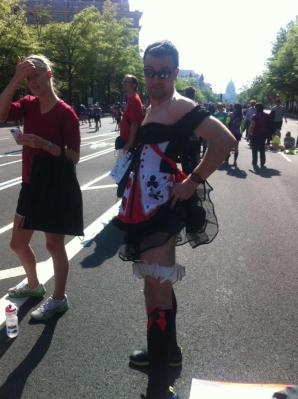 Queen of Hearts - Nike Women's Half Marathon DC