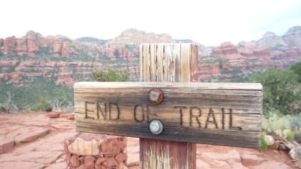 End of Trail - Boynton Canyon Vista Trail