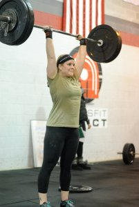 CrossFit Open 15.1a - Crystal C&J PR