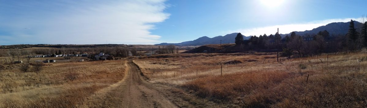 Bear Creek Ditch Trail Run, Boulder Colorado
