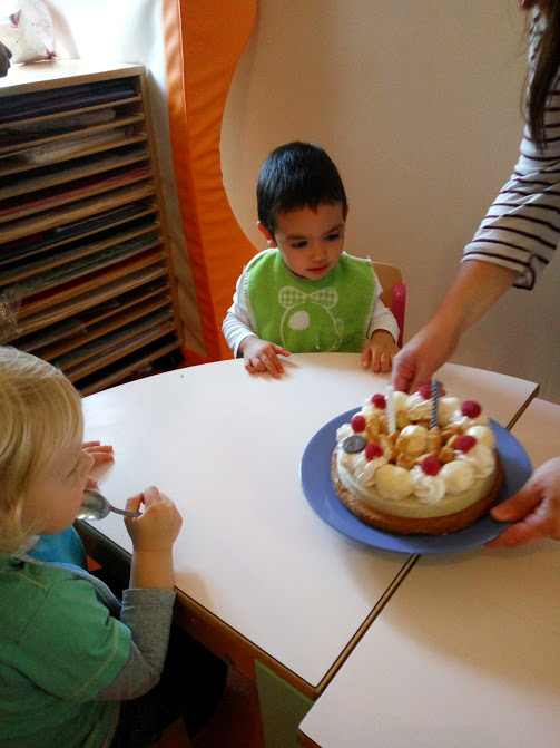 your birthday celebration at the creche