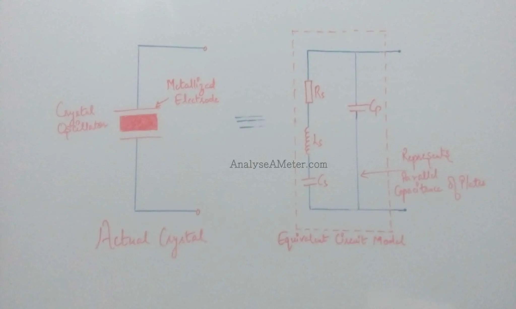 Quartz Oscillator Symbol Crystal Circuit Tutorial