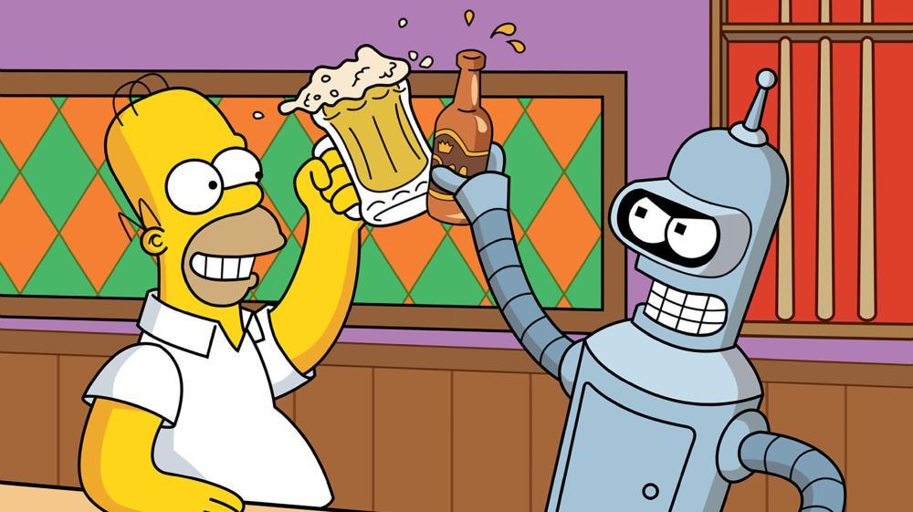 simpsons_wallpaper_the-simpsons-wallpaper-futurama-homer-bender-beer-bar-1