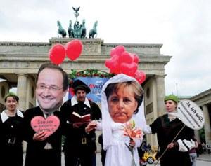 Μέρκελ-και-Hollande