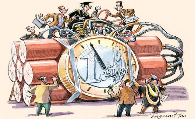 ΕΙΚΟΝΑ---Ευρώ,-βόμβα Η προφητεία Το ευρώ είναι ένα θνησιγενές νόμισμα, εάν παραμείνει ως έχει, ενώ οι αντοχές του δοκιμάζονται από την ελληνική κρίση, όπως επίσης η βιωσιμότητα