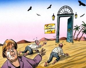 ΕΙΚΟΝΑ - Ευρωζώνη, Ευρώ, Μέρκελ Εξ.