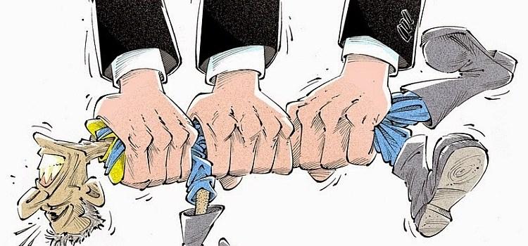 Η υφαρπαγή της Ελλάδας