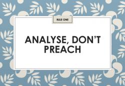 Jon Collins: analyse, don't preach (IIAR website)