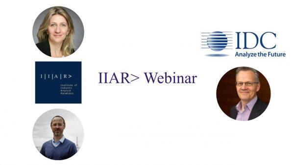 IIAR> Webinar with IDC