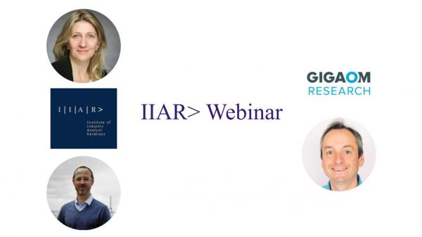 IIAR> Webinar with Jon Collins / GigalOM