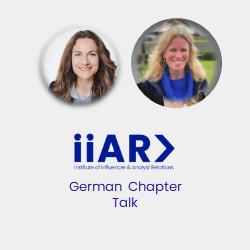 IIAR> Webinar: Analyst Relations in Europe on the rise