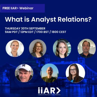 IIAR> Webinar on the AR Job - 30/09/21