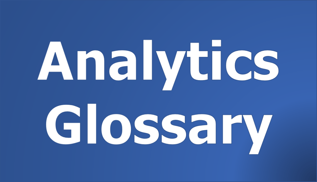 Analytics Glossary