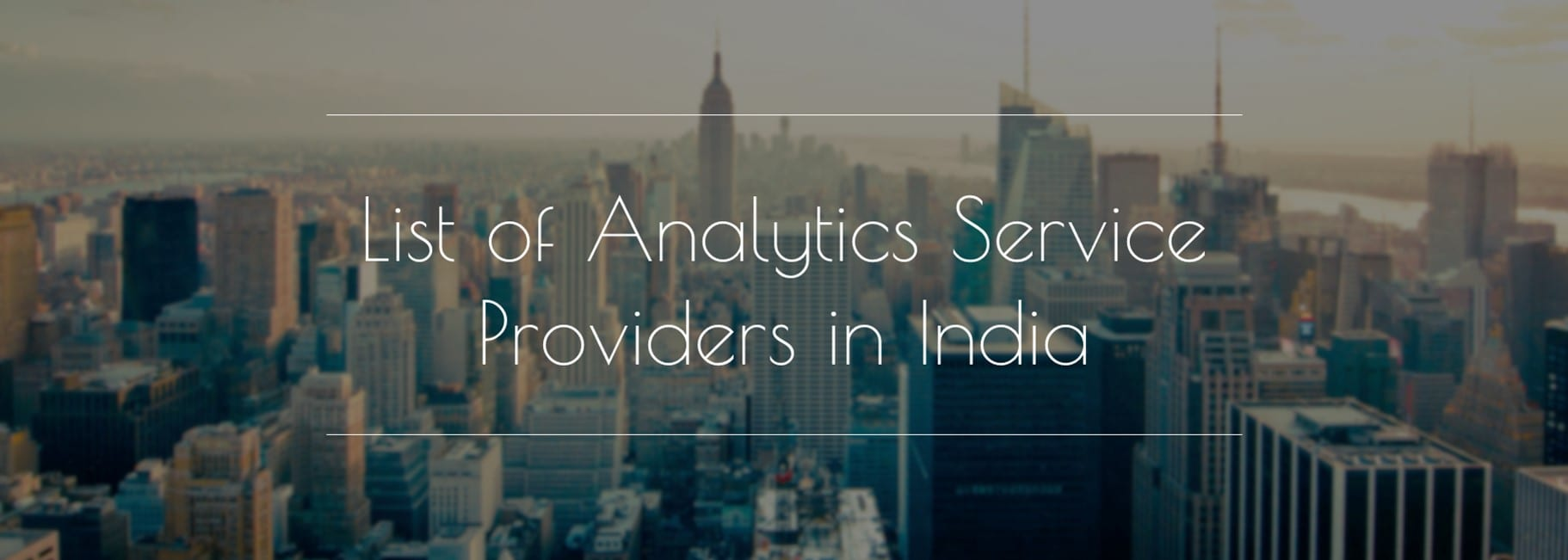 analytics companies in india top analytics companies in india essay Are what makes jei the best option for your child's educational needs view  more  2017 jei essay contest winners view more subscribe.