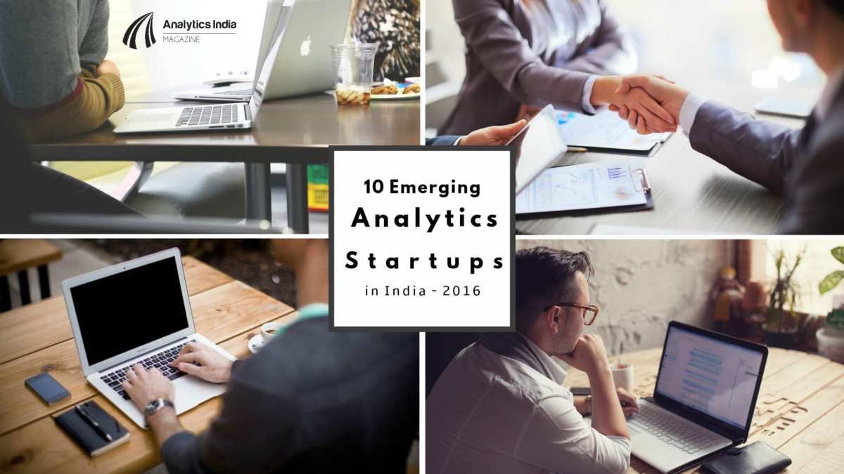 10 Emerging Analytics Startups in India to watch for in 2016