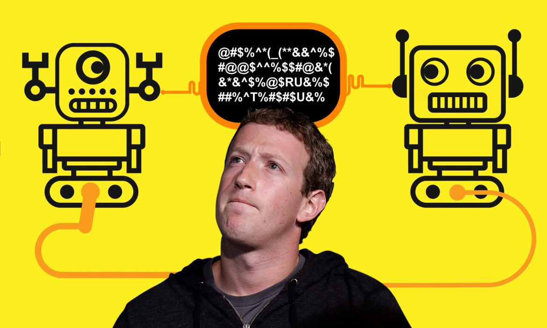 Facebook robots new language