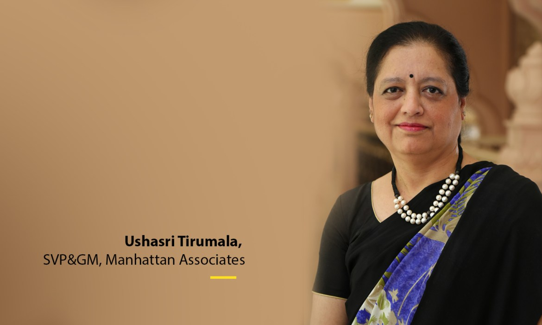Ms. Ushasri Tirumala, SVP&GM, Manhattan Associates