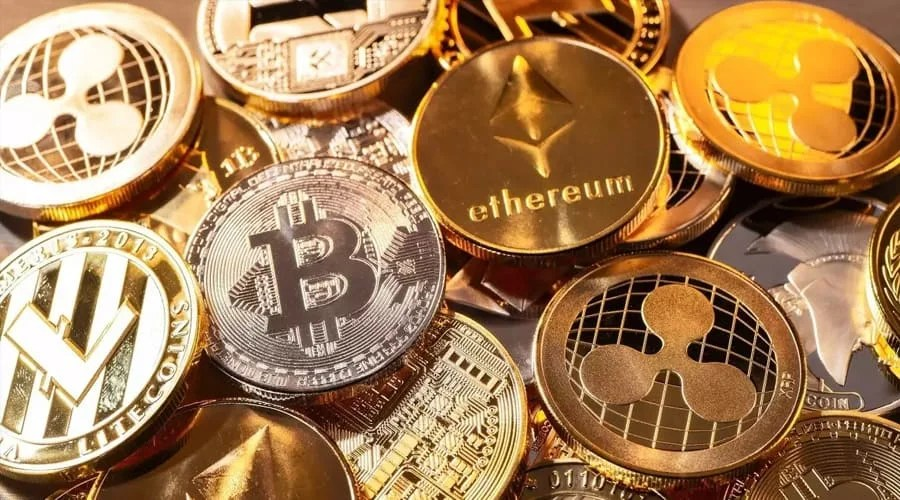 Top 10 current cryptocurrency prices