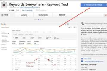 1 Keyword Everywhere - Keyword Tool Tambahkan ke Google Chrome