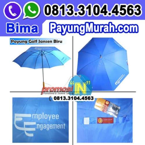 Jual Payung Promosi Murah Harga Grosir - Payung Golf Souvenir Employee Engangement