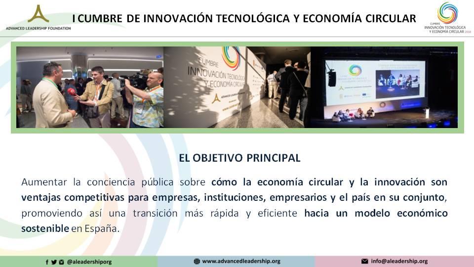 Objetivo cumbre economía circular
