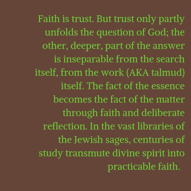 Judaism Faith Study