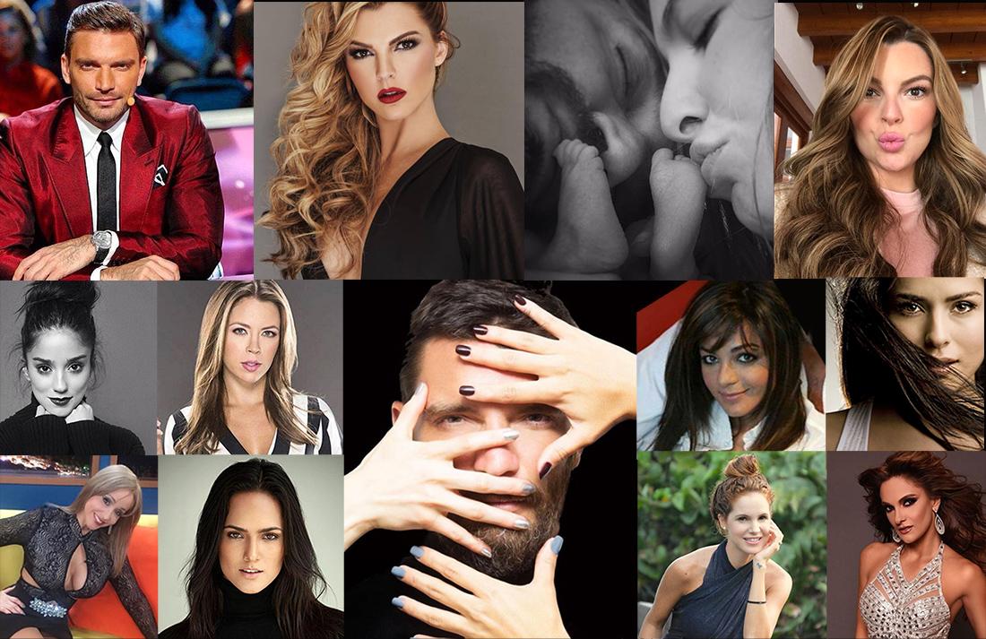Julián Gil y sus 10 mujeres
