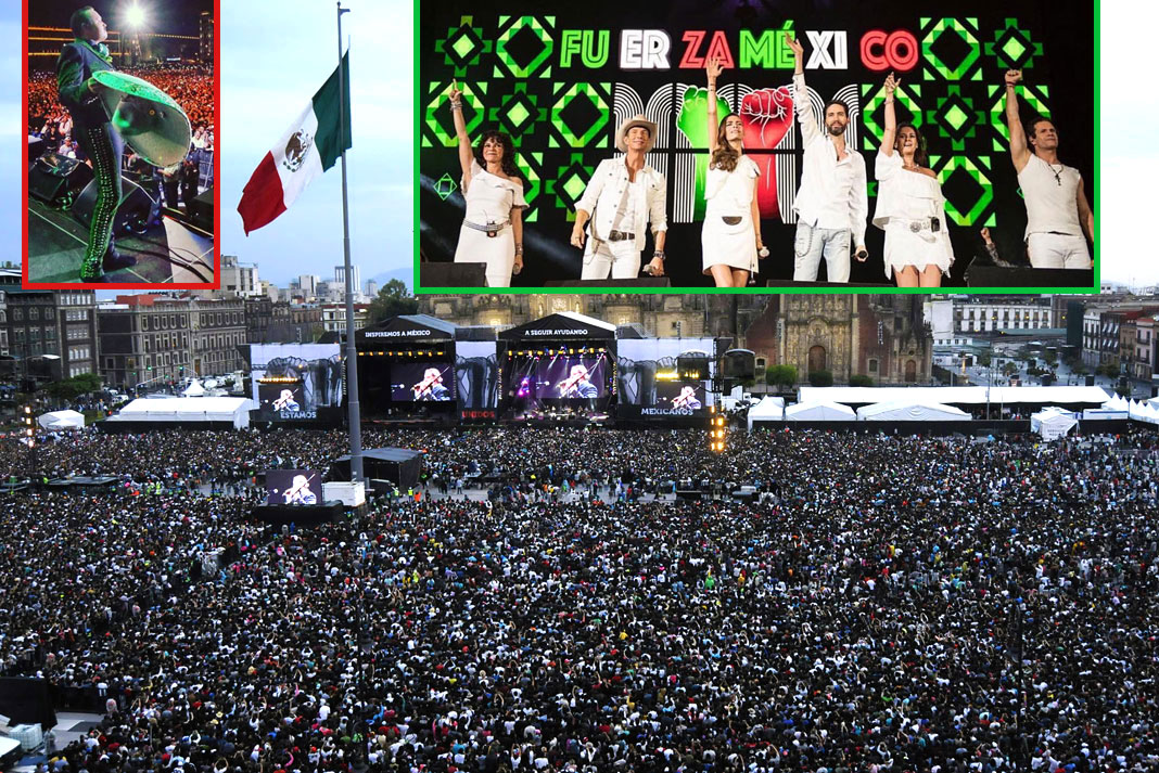 Pepe Aguilar y Timbiriche fueron de los más aplaudidos del evento