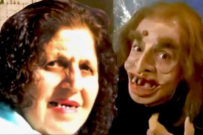 Este es la imagen de la señora que Eugenio compara con su personaje de El Lonje Moco, que no a todos gustó