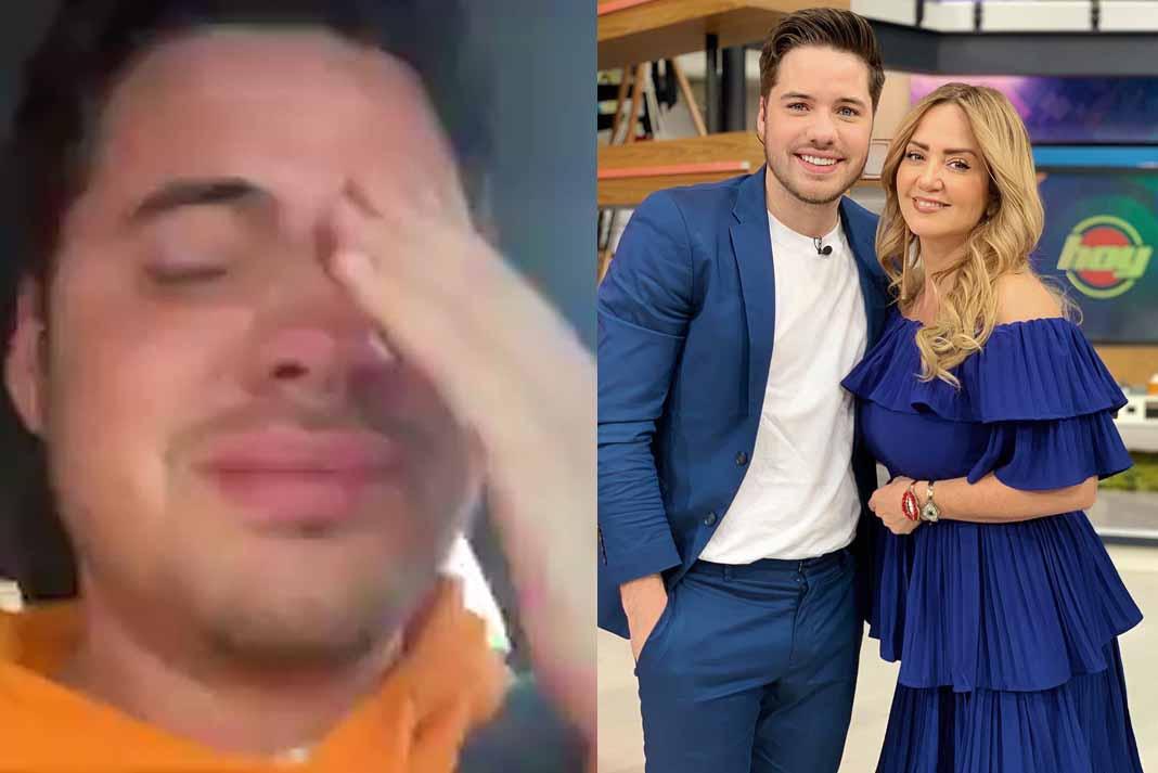William lloró, pero de emoción, al compartir con sus fans que se queda en 'Hoy'
