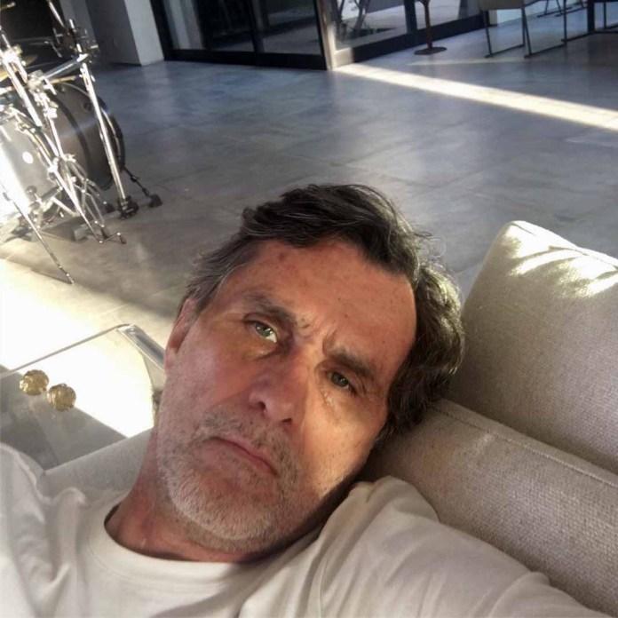 Humberto Zurita no dejó de trabajar, pero está sufriendo mucho el luto