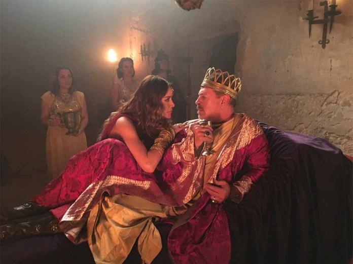 Sergio Goyri interpreta a Herodes y Marlene Favela a Salomé