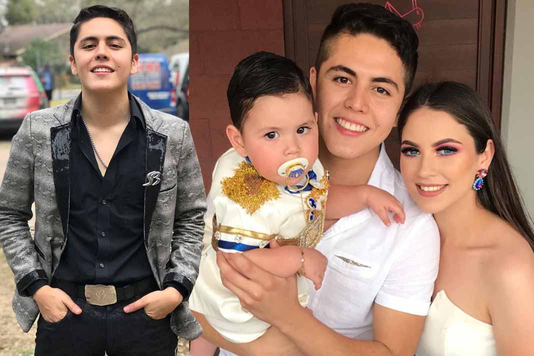 El vocalista de Banda Los Sebastianes y su guapa esposa tuvieron doble festejo