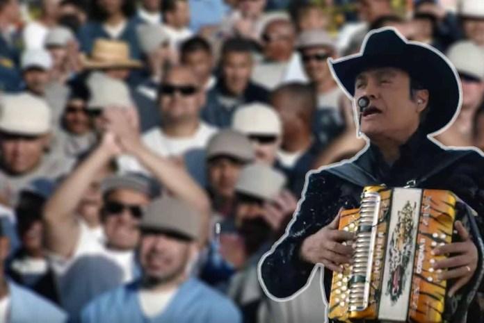 Los Tigres del Norte cantaron en la Prisión de Folsom ante cientos de presos