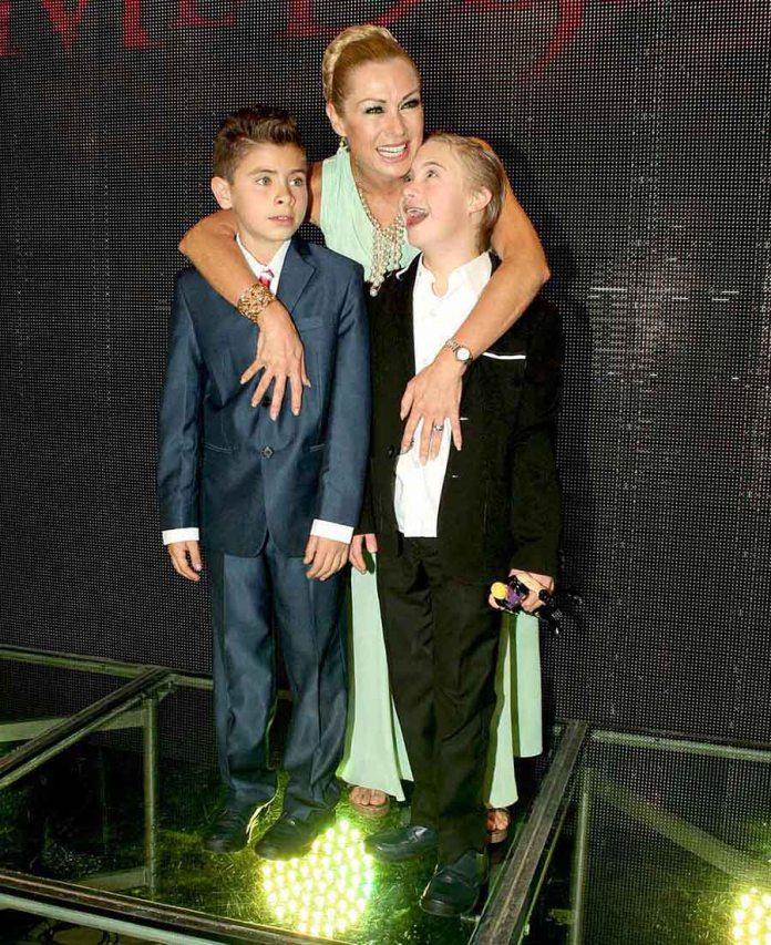 La actriz comentó que está a punto de comprarle un apartamento a Luciano, su hijo de 15 años con Síndrome Down, porque él quiere independizarse