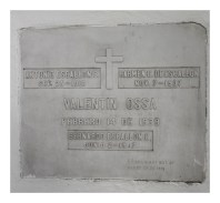 Tumba de Antonio Escallon- Valentin Ossa