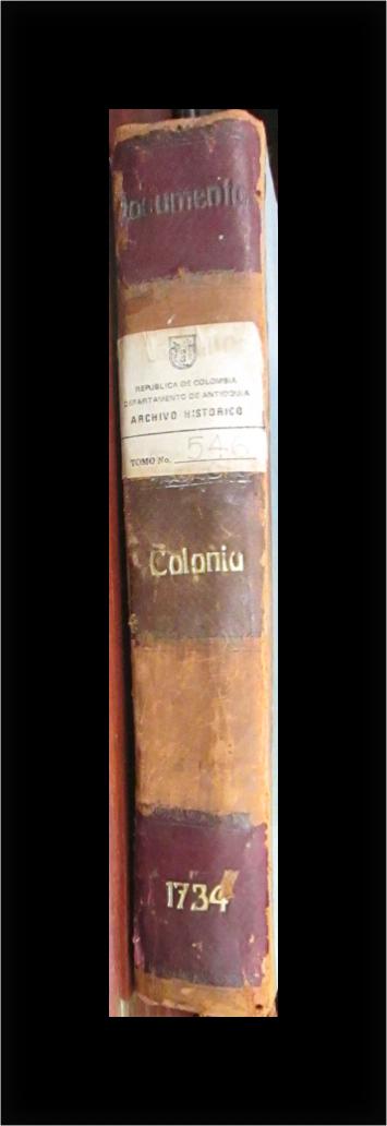Juan Andres Botero en la Colonia