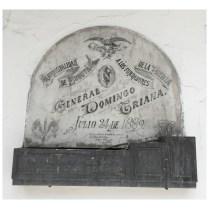 Tumba del General Domingo Triana