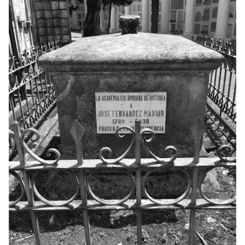 Tumba de José Fernández Madrid