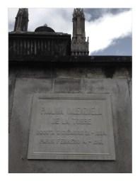 Tumba de Paulina Valenzuela De La Torre