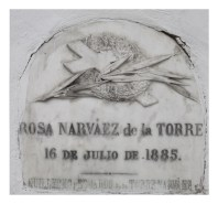 Tumba de Rosa Narváez de La Torre- Guillermo y Eduardo De La Torre