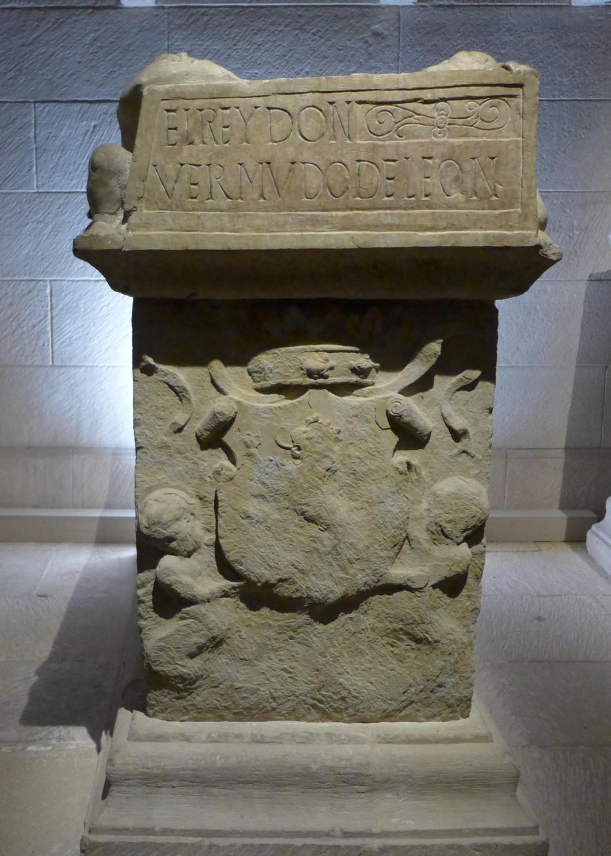 """""""El rey Don Vermudo de León (Bermudo III de León)""""."""