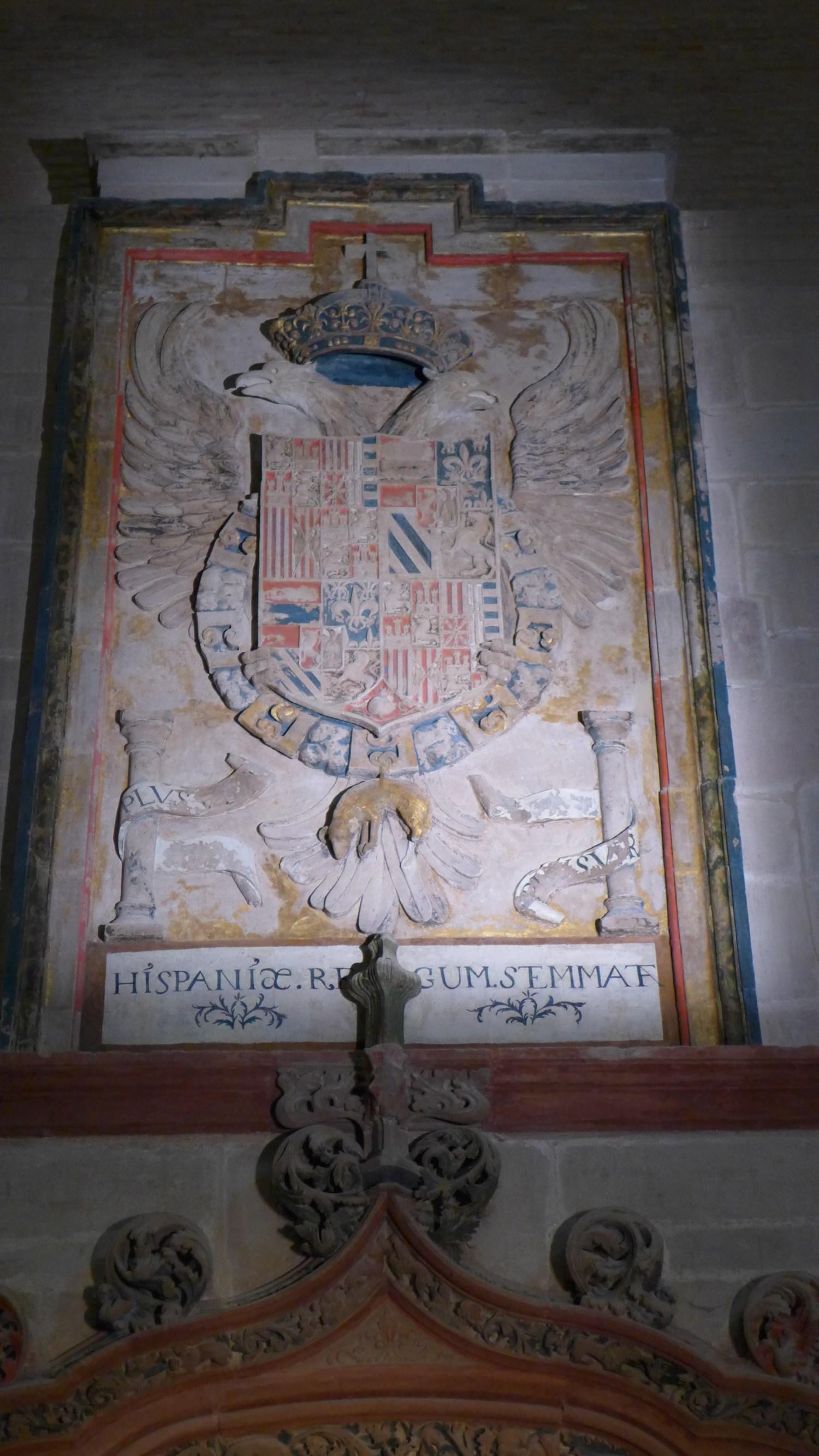 """""""Escudo de Armas de Carlos I de España y V de Alemania""""."""