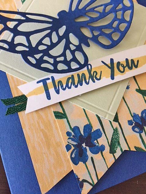 Stampin' Up! | Just Stamp | Abstract Impressions Detail