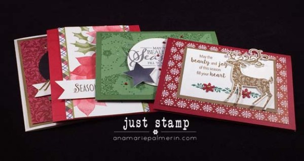 Just Stamp | Traditional Christmas Cards Class