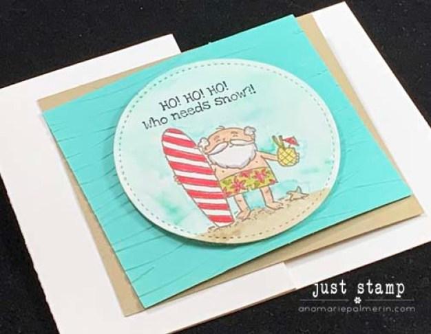 Just Stamp | So Santa Surfer