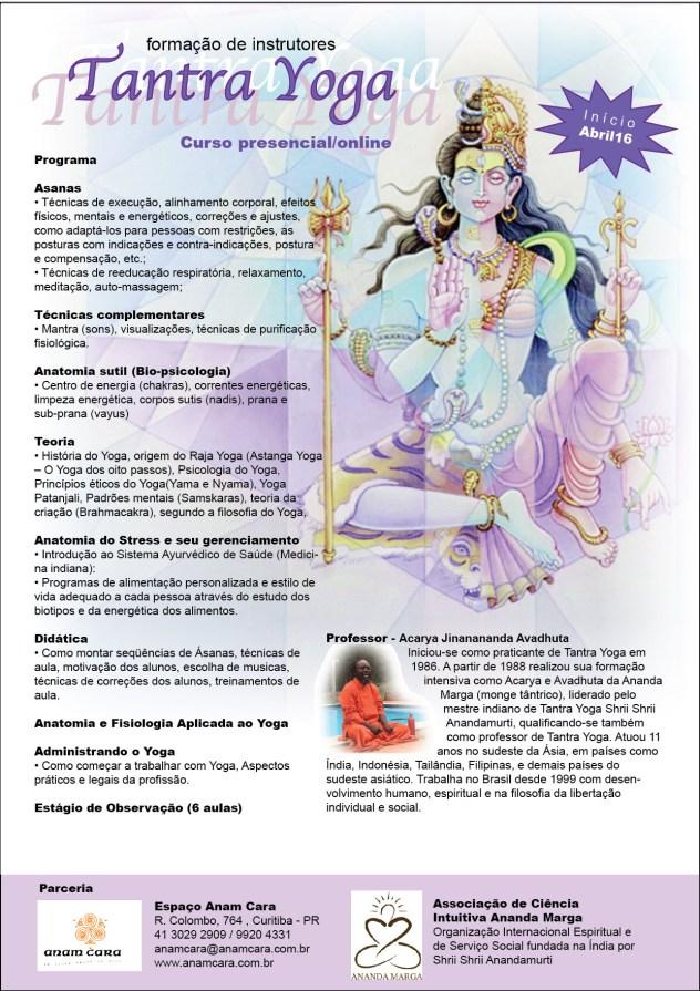 Curso de Formação de Instrutores em Tantra Yoga