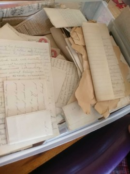 Hundreds of letters and speeches